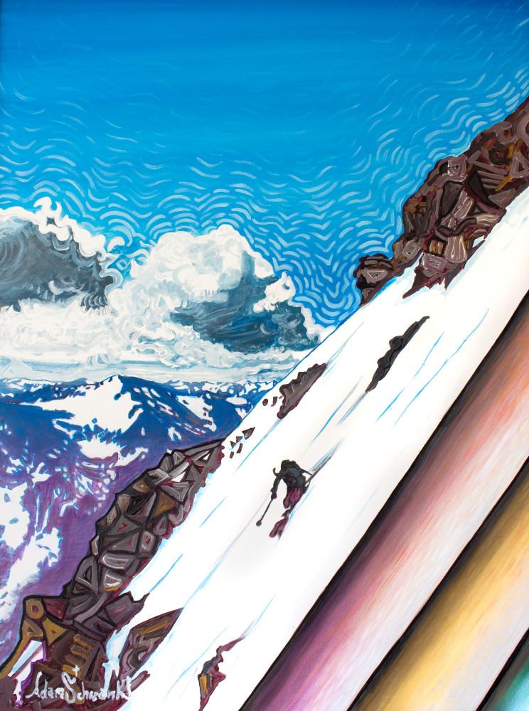 Skier Art | Adam Schwankl