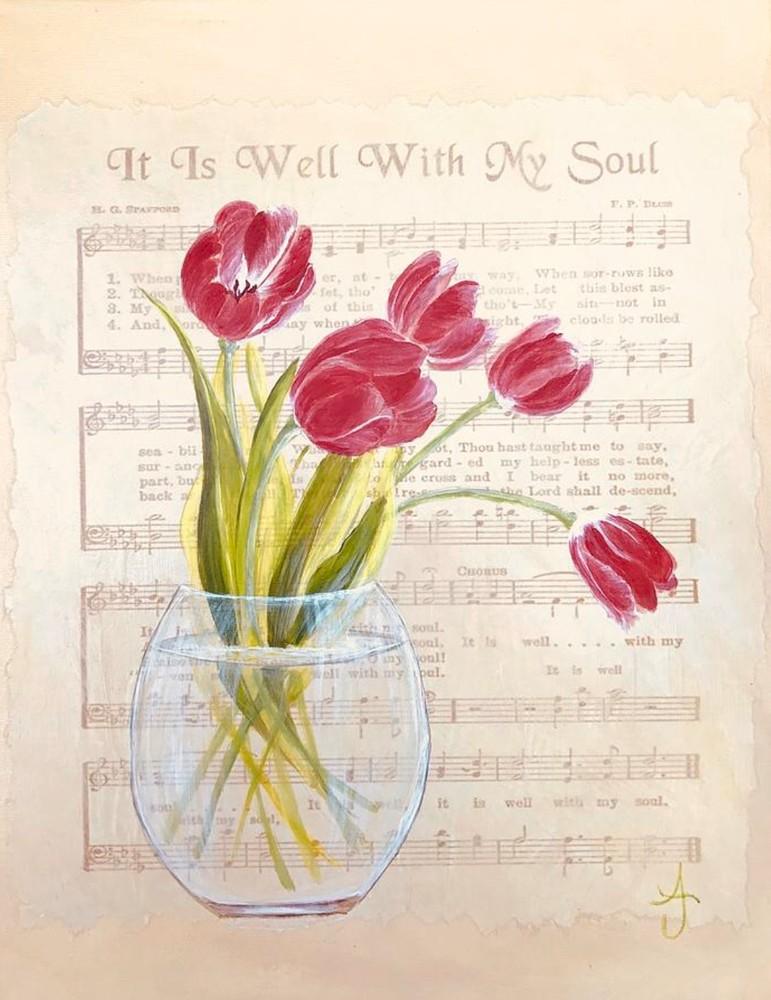 It Is Well With My Soul Art | alanajudahart