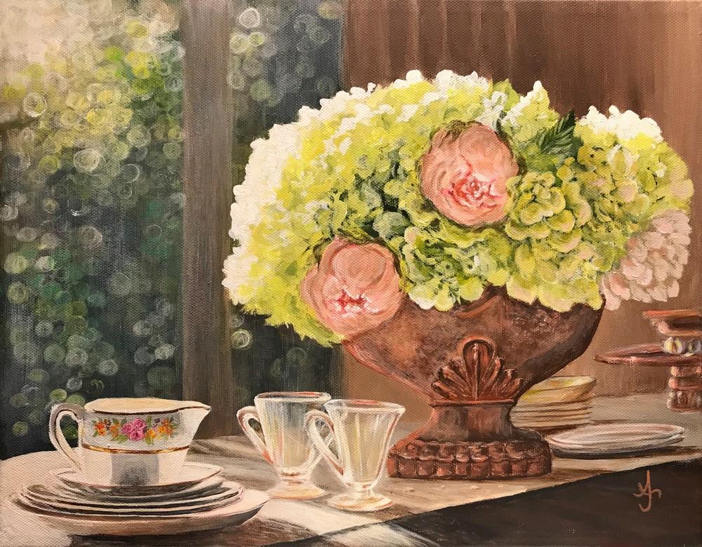 My Morning Table Art | alanajudahart