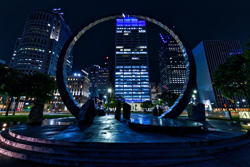 Detroit's Hart Plaza photography prints