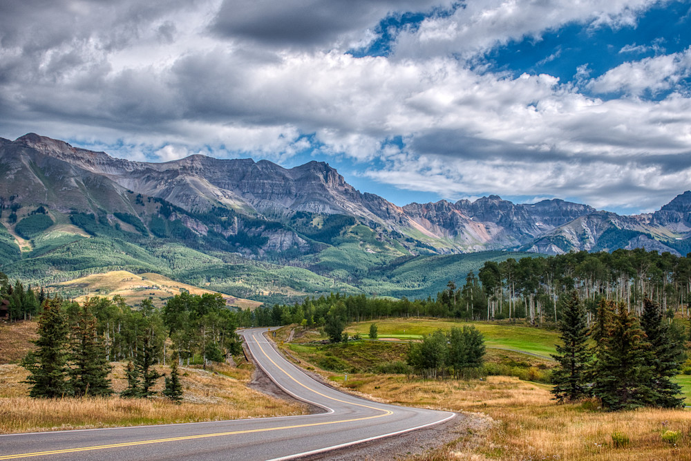Mountain Village, Colorado Photography Art | Peter Batty Photography