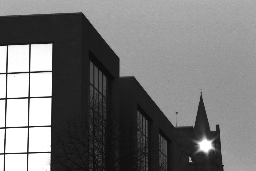 Corporate Office Twilight Photography Art | Peter Welch