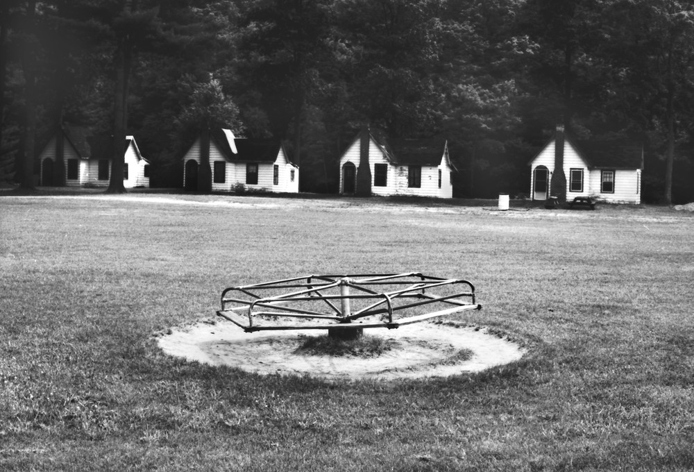 Summer Cottages & Merry Go Round Photography Art | Peter Welch