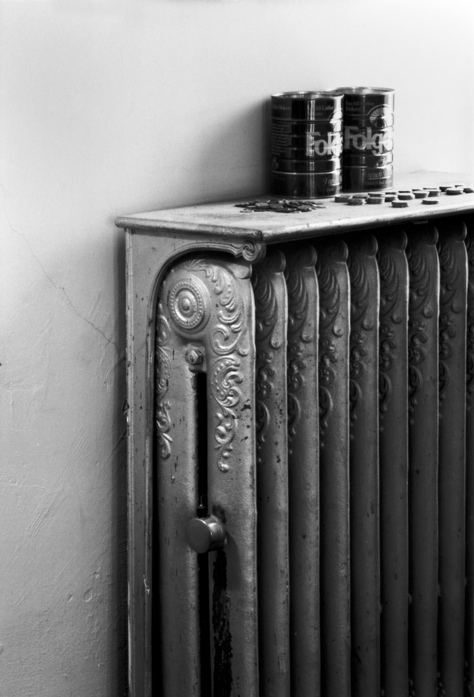 Folger Cans & Radiator Photography Art | Peter Welch