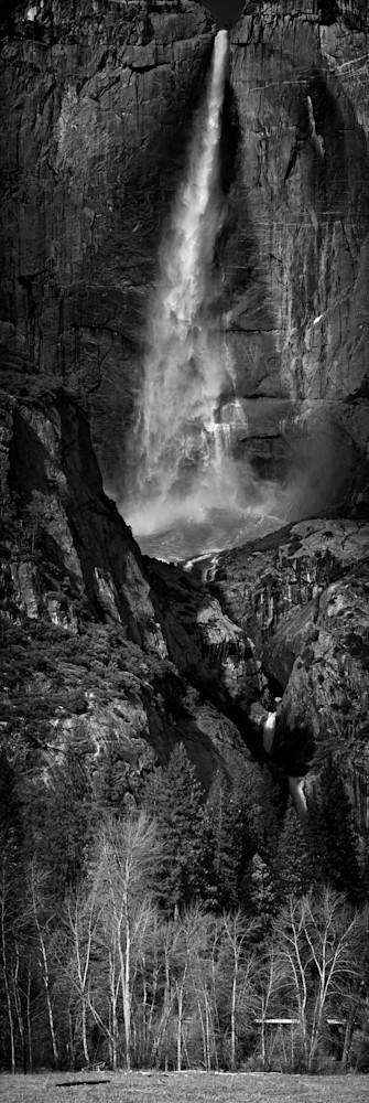 Yosemite Falls Cascade Photography Art   templeimagery