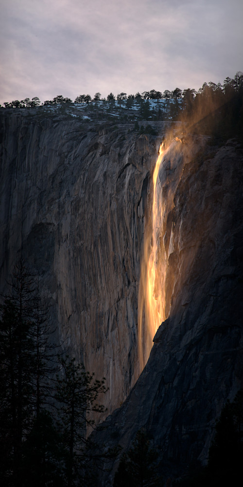Firefalls Gold Photography Art | templeimagery