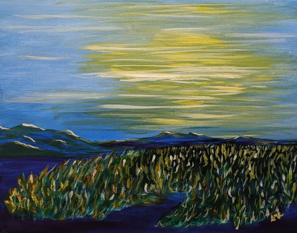 Overcast Marsh | LML Studio Art