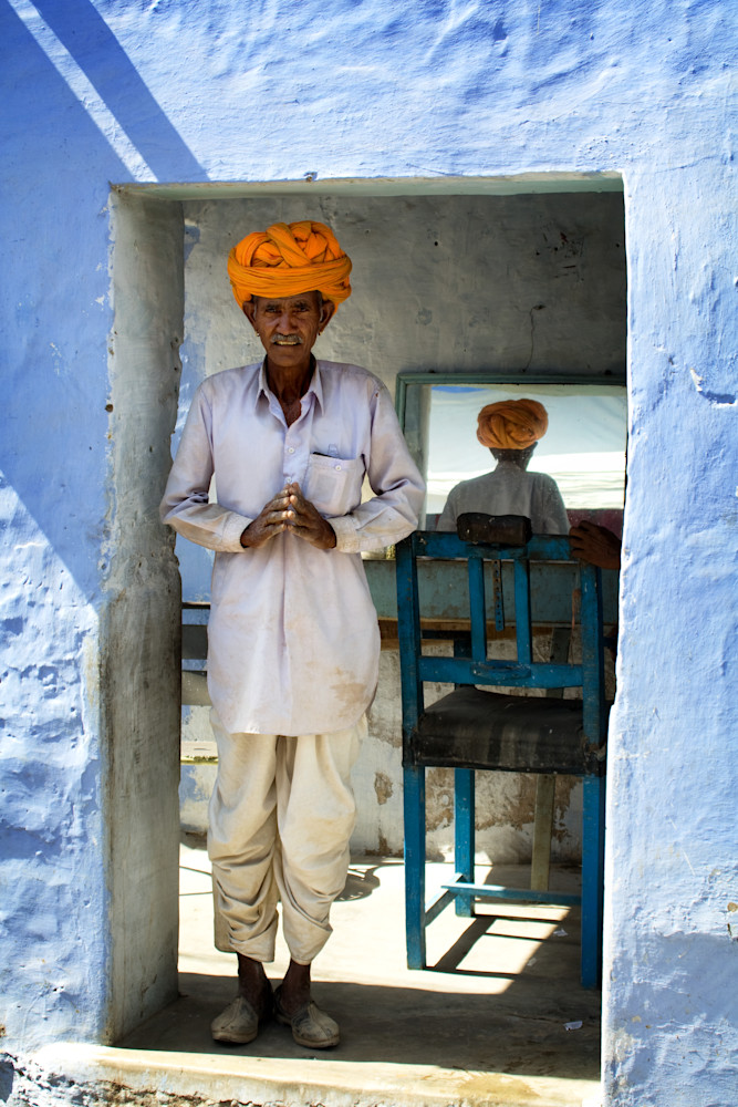 Blue City Barber Photography Art   templeimagery
