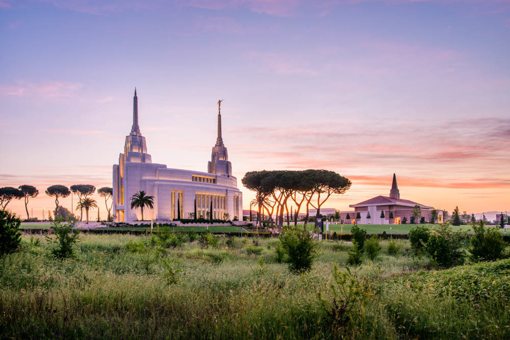 Rome Italy Temple - Field