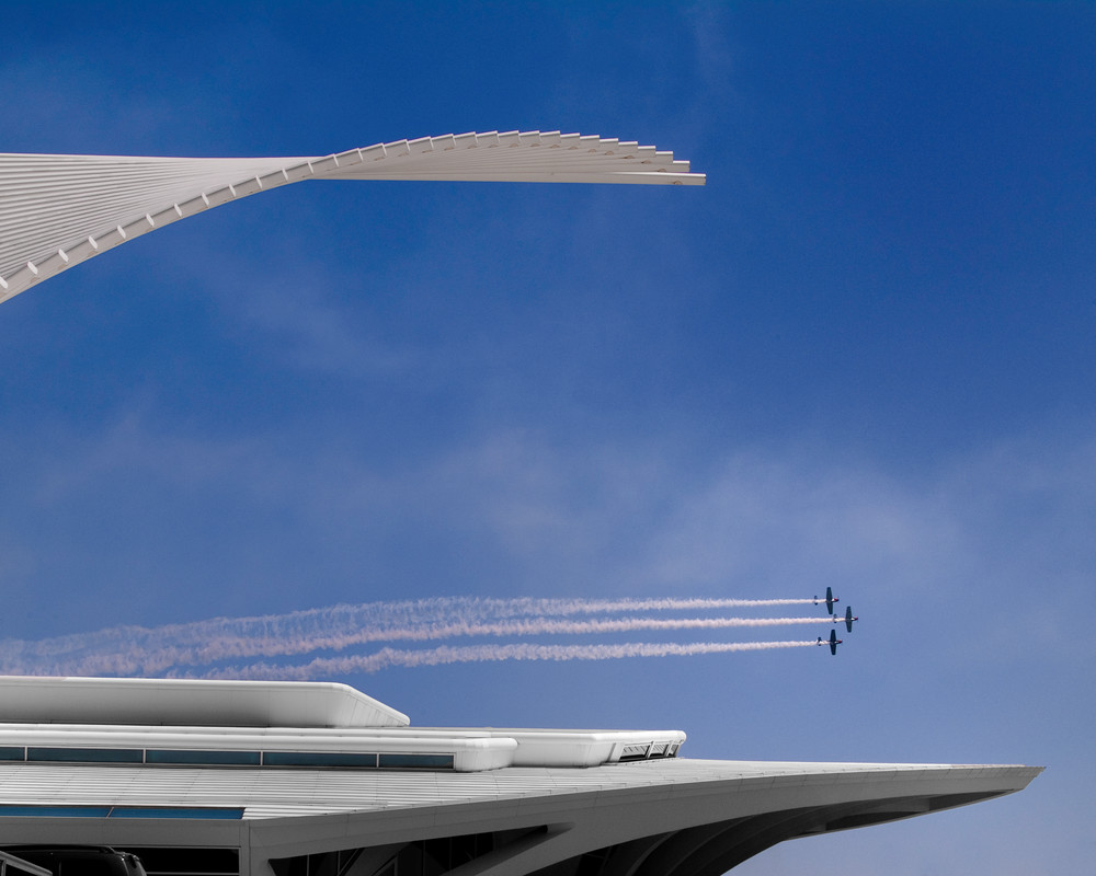 Calatrava Fly By Photography Art | Mark Stall IMAGES