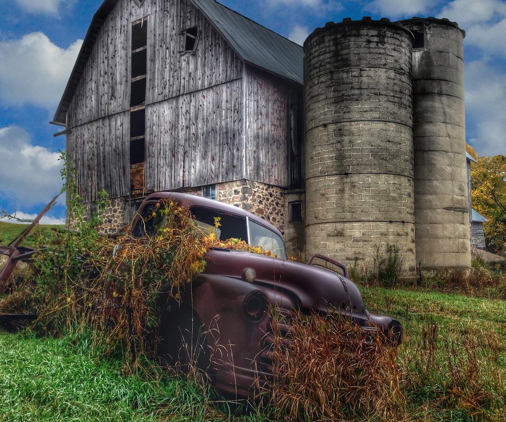 Oconomowoc Vegetable Truck Photography Art | Mark Stall IMAGES