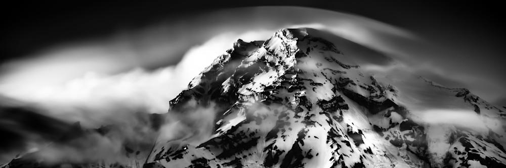 View from Rampart Ridge near Longmire Mount Rainier