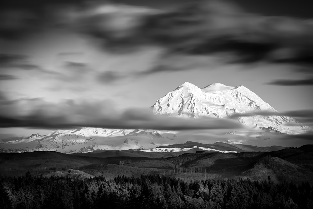 Mount Rainier Long Exposure