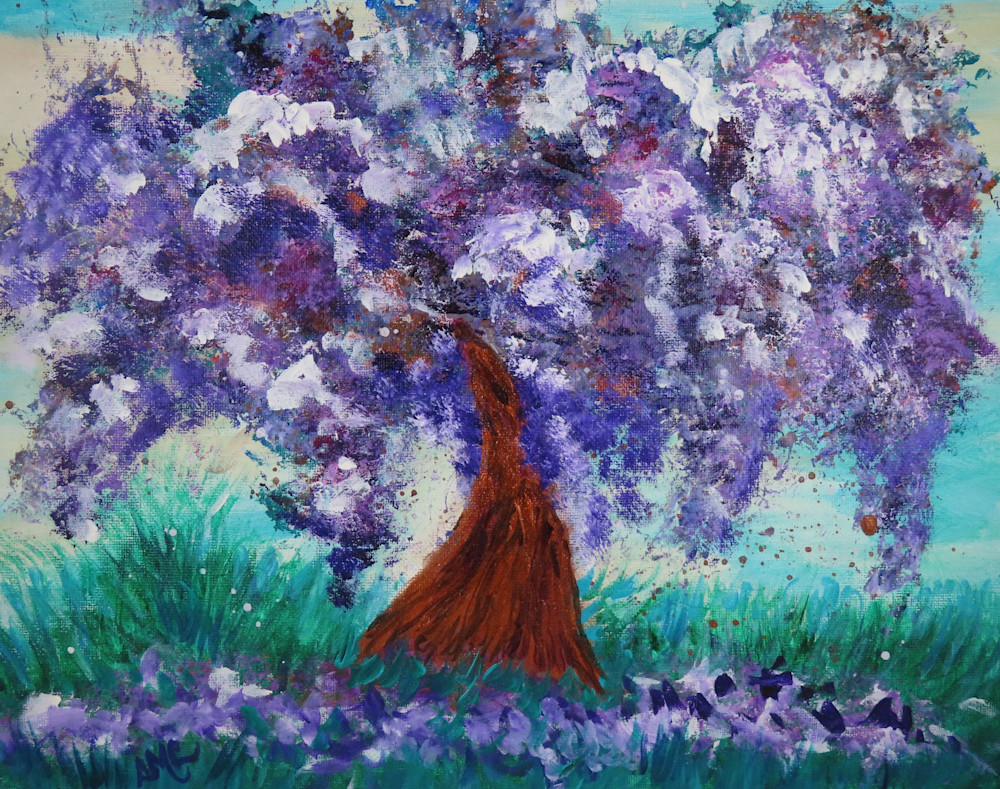 Shedding Lilac Tree | LML Studio Art