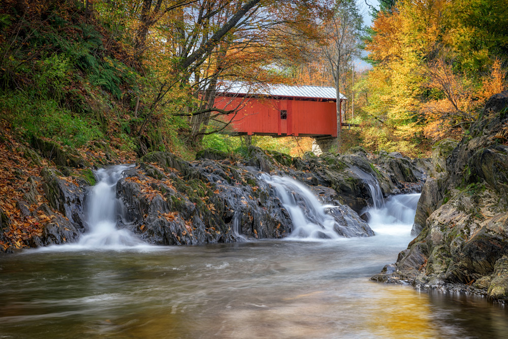 Slaughter House Covered Bridge | Shop Photography by Rick Berk