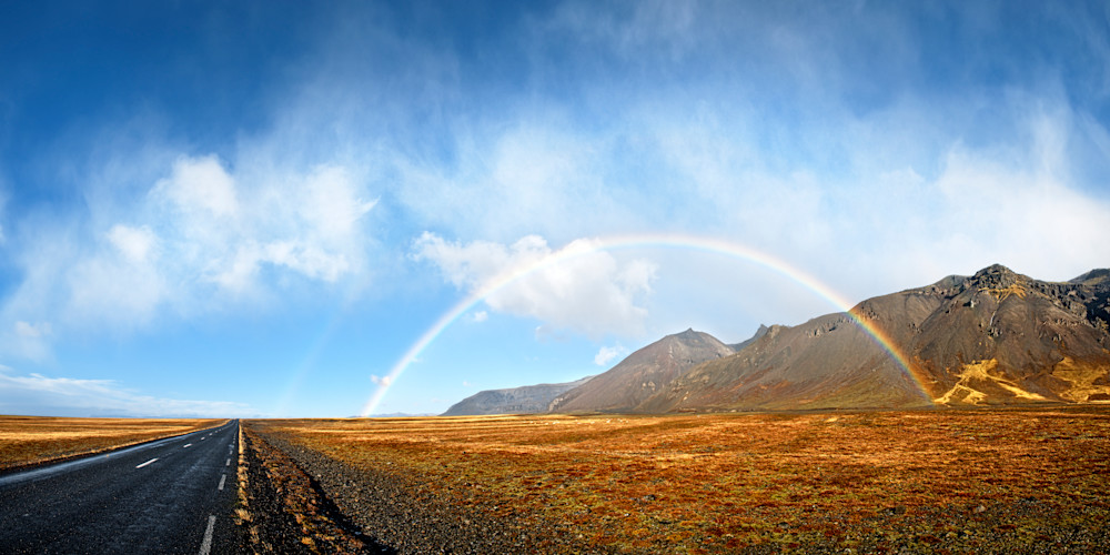 Rainbow Wilderness Photography Art | templeimagery