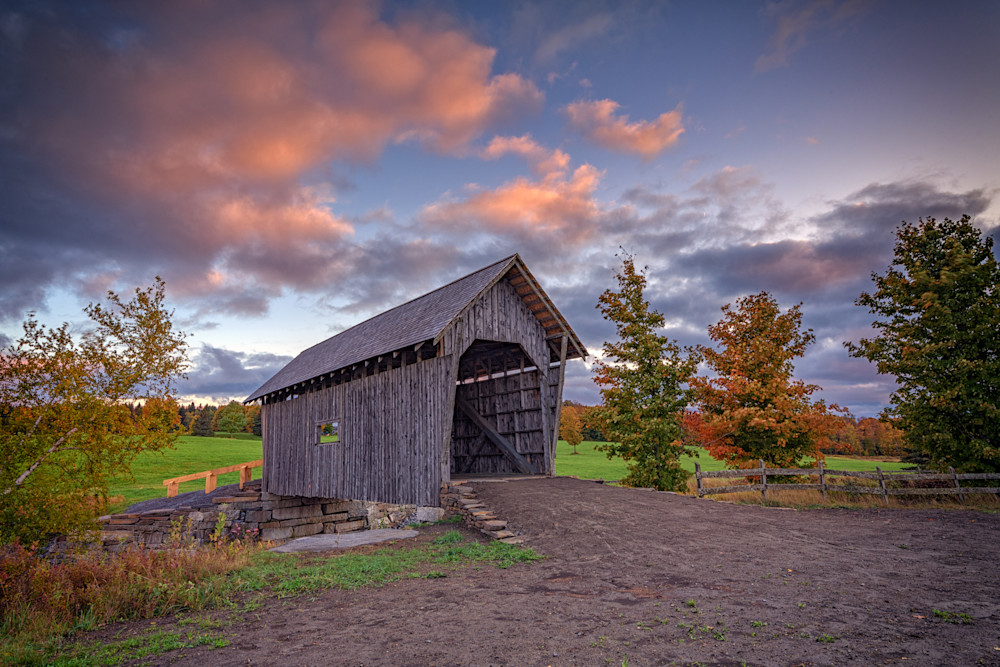 A.M. Foster Covered Bridge | Shop Photography by Rick Berk