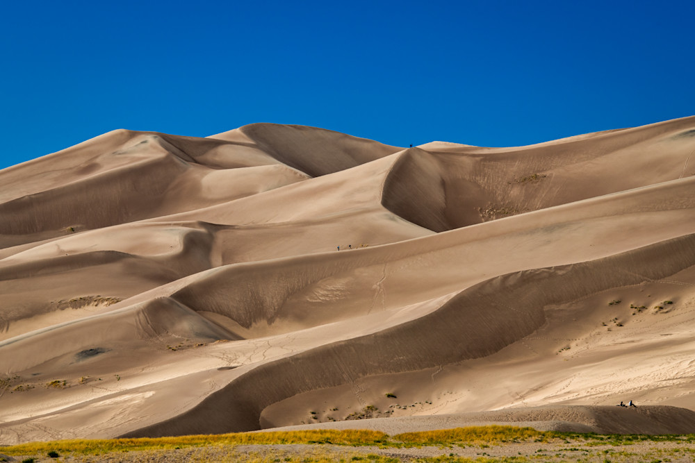 Climbing the Great Sand Dunes - Colorado photography prints