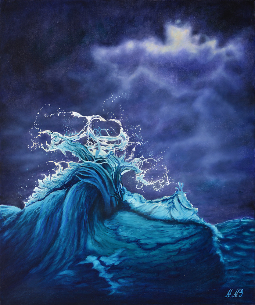 Ocean Wave  Art | MMG Art Studio | Fine Art Colorado Gallery