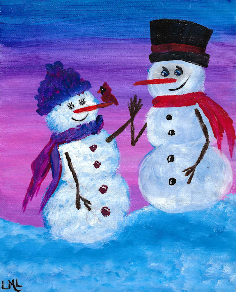 Snow Couple | LML Studio Art