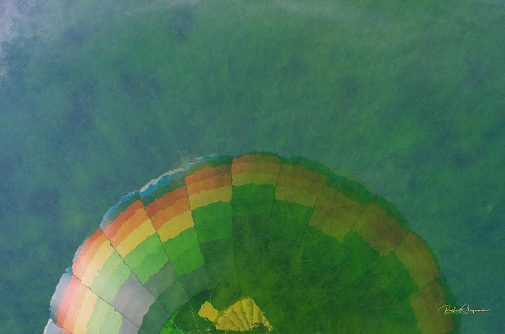 Hot Air Balloon Series: Reflection   Shop Prints   Robert Shugarman Photography