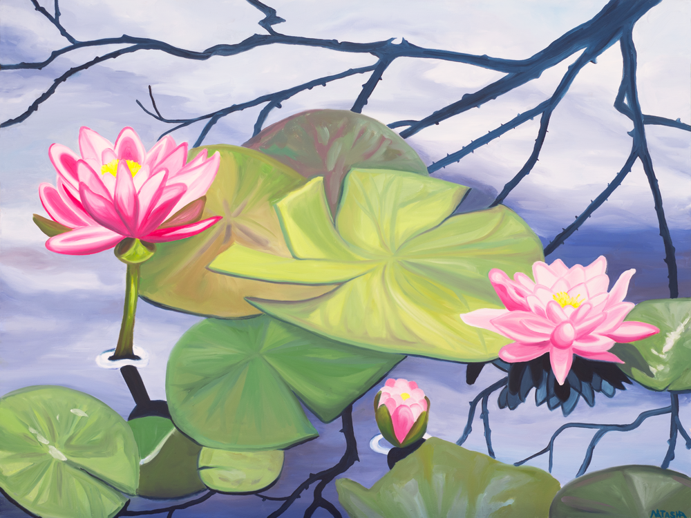 Balance Water Lily Art for Sale
