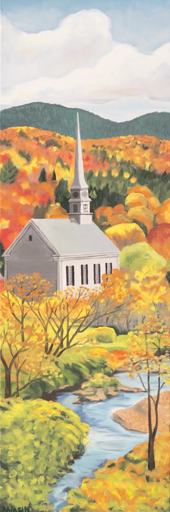 Stowe Community Church Art for Sale