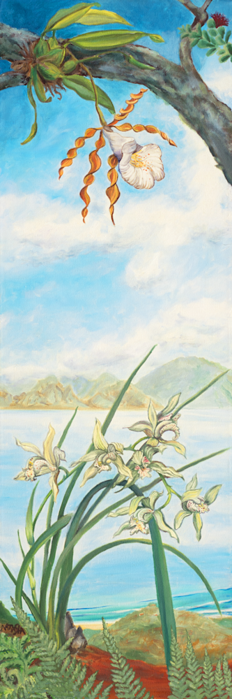 Mountain Orchids Art for Sale