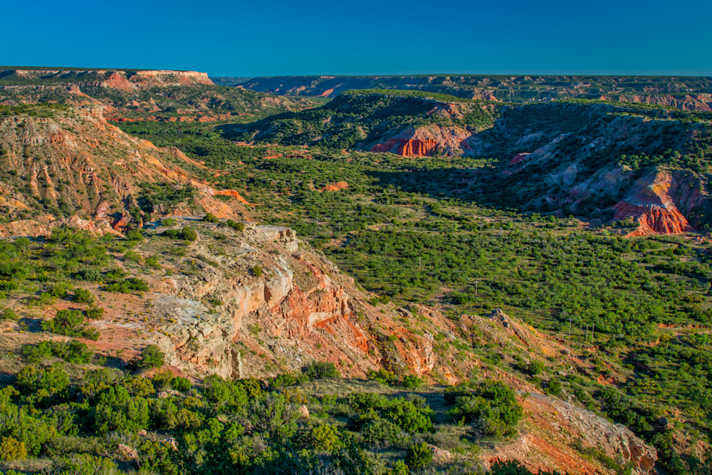 Palo Duro Canyon overlook - Texas photography prints