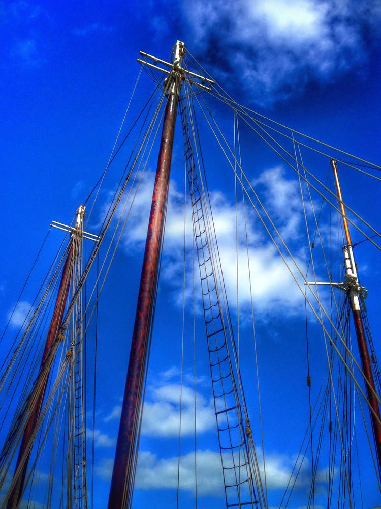 Key West Flying Masts Art | Mark Stall IMAGES