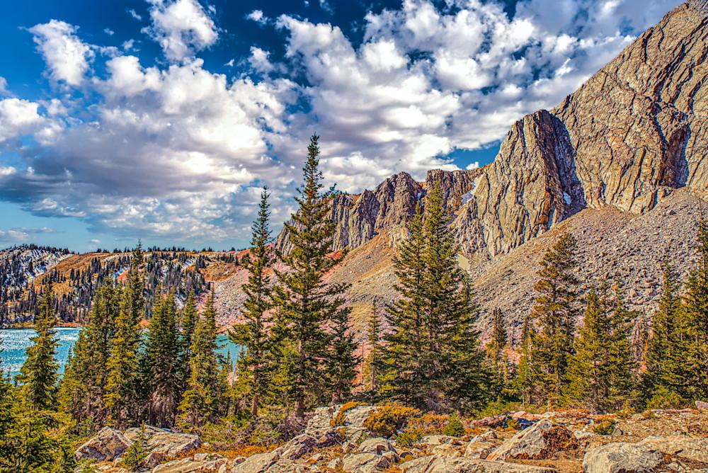 Lake In The Peaks Photography Art | Artist David Wilson