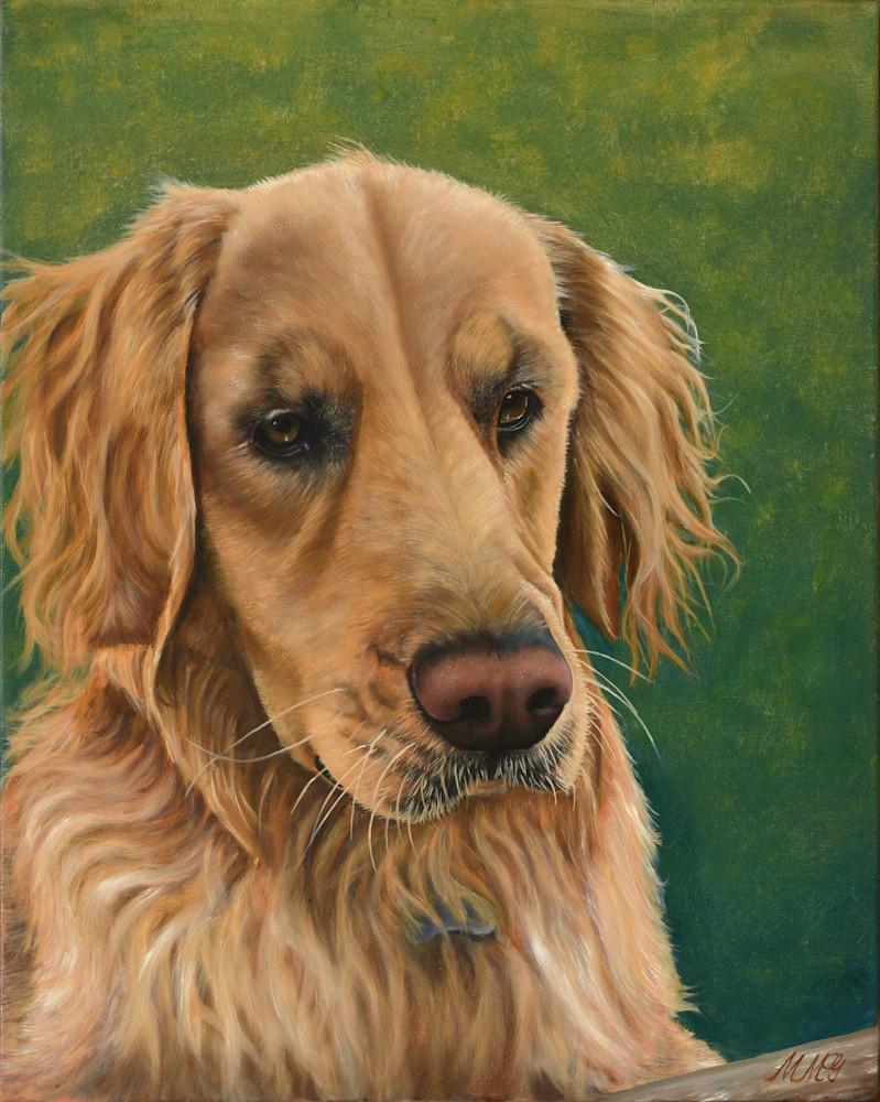 Golden Retriever Art   MMG Art Studio   Fine Art Colorado Gallery