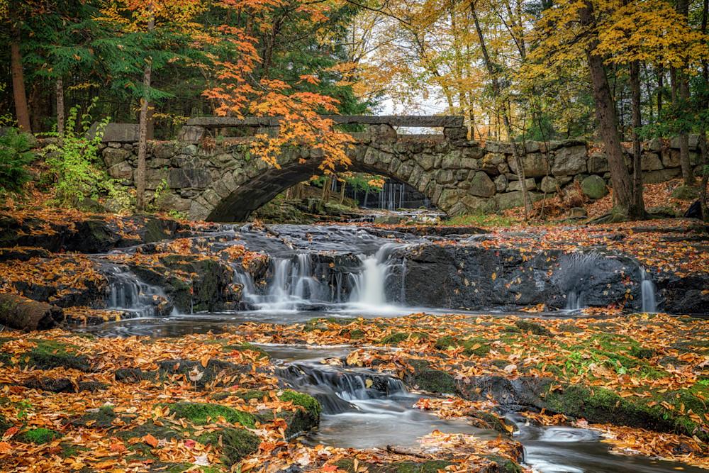 Autumn at the Stone Bridge | Shop Photography by Rick Berk