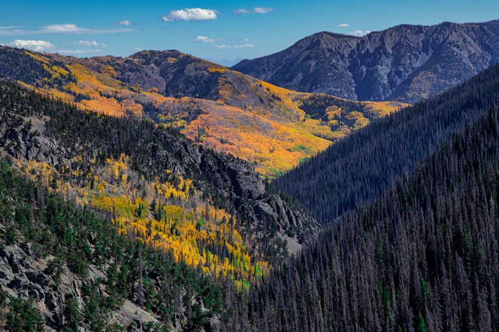 Valley of life and death - Colorado photography prints