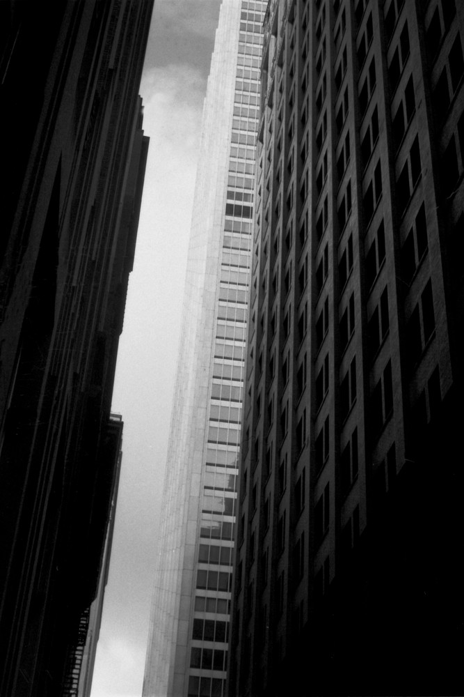 Manhattan Chase Leaning Photography Art | Peter Welch