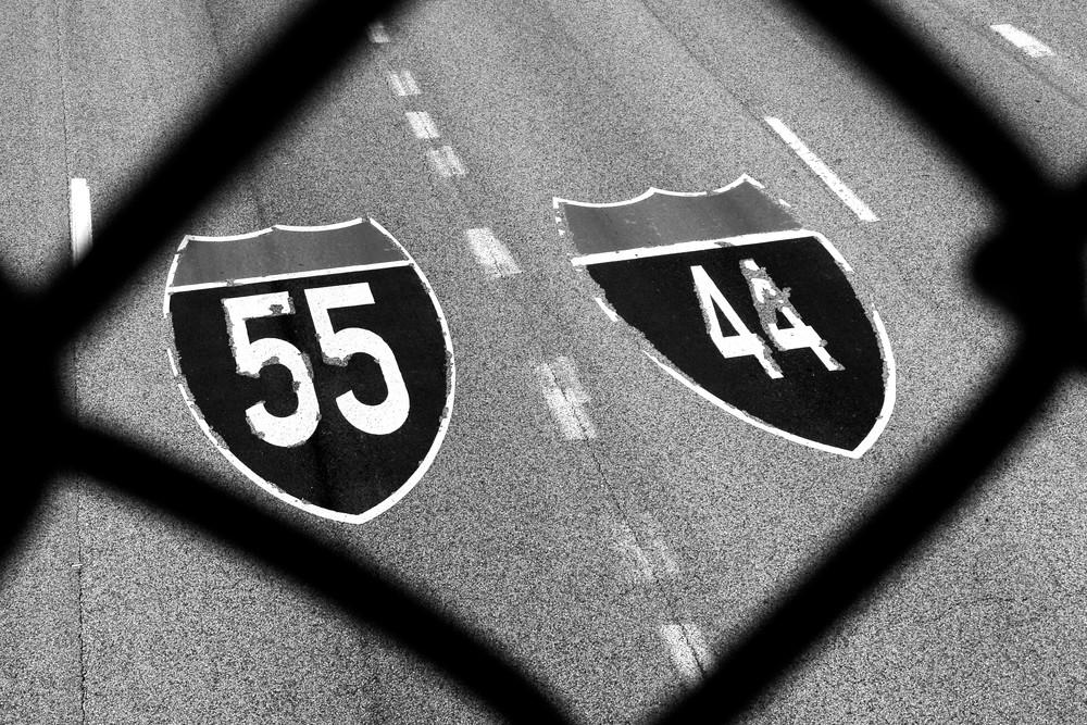 Interstates Photography Art | Peter Welch