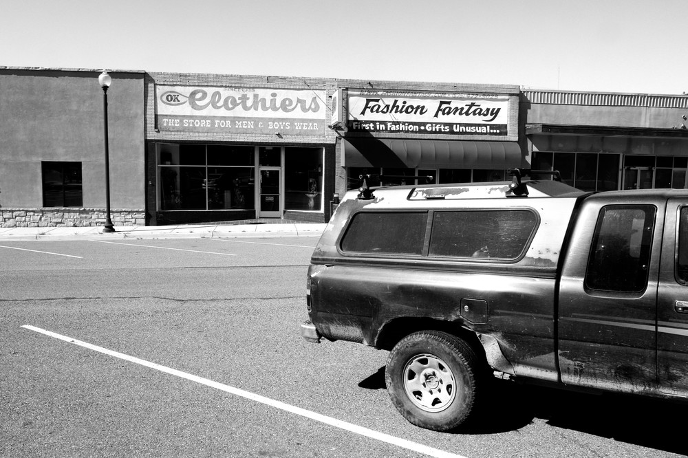 Fashion District,  Santa Rosa Nm Photography Art | Peter Welch