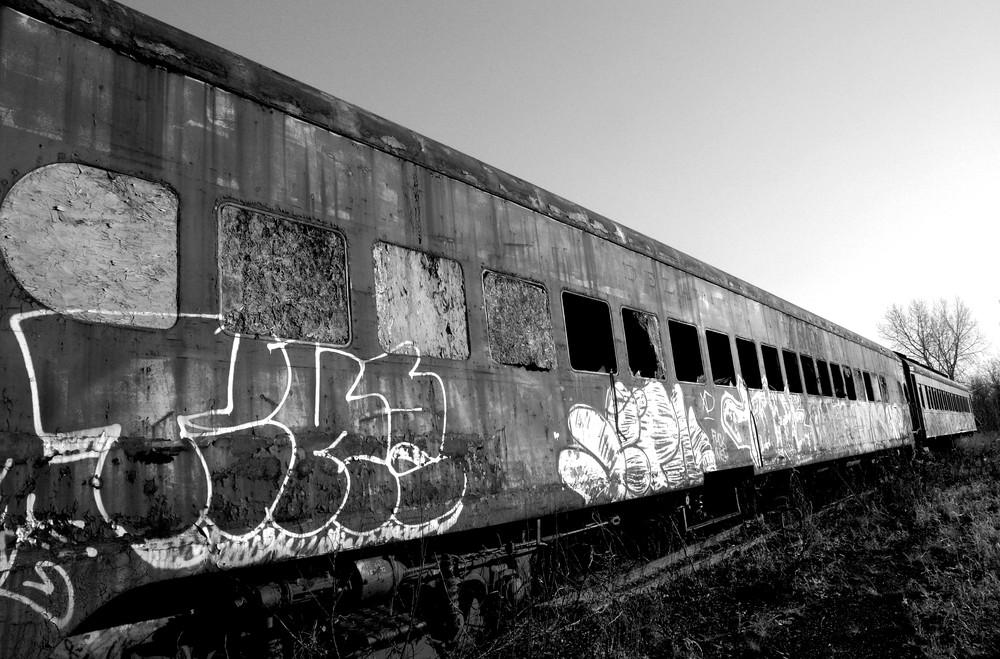 Retired Passenger Train Photography Art | Peter Welch