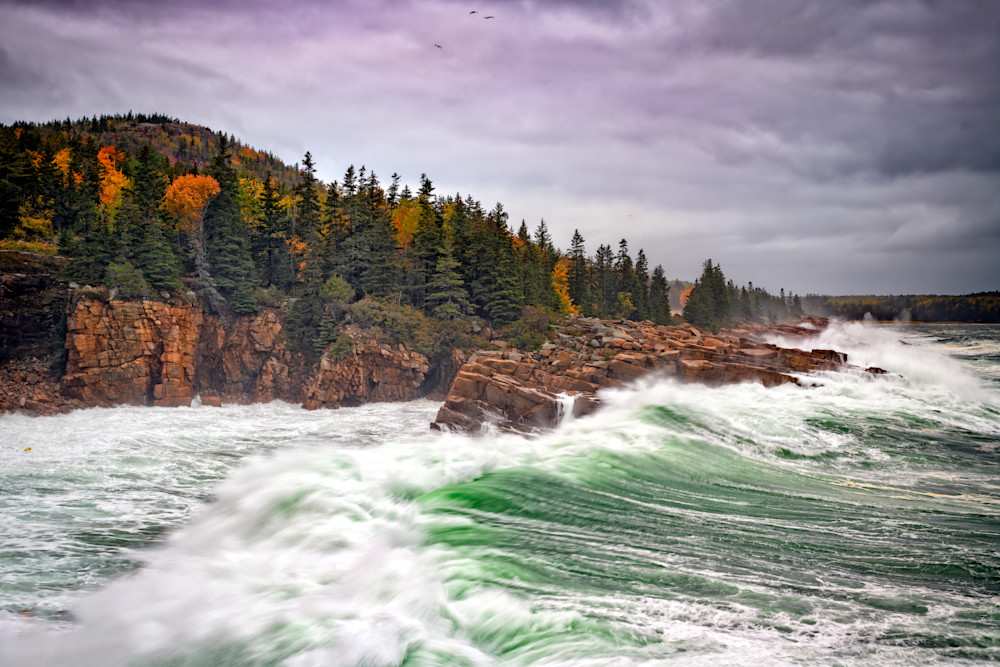 Autumn Nor'easter in Monument Cove | Shop Photography by Rick Berk