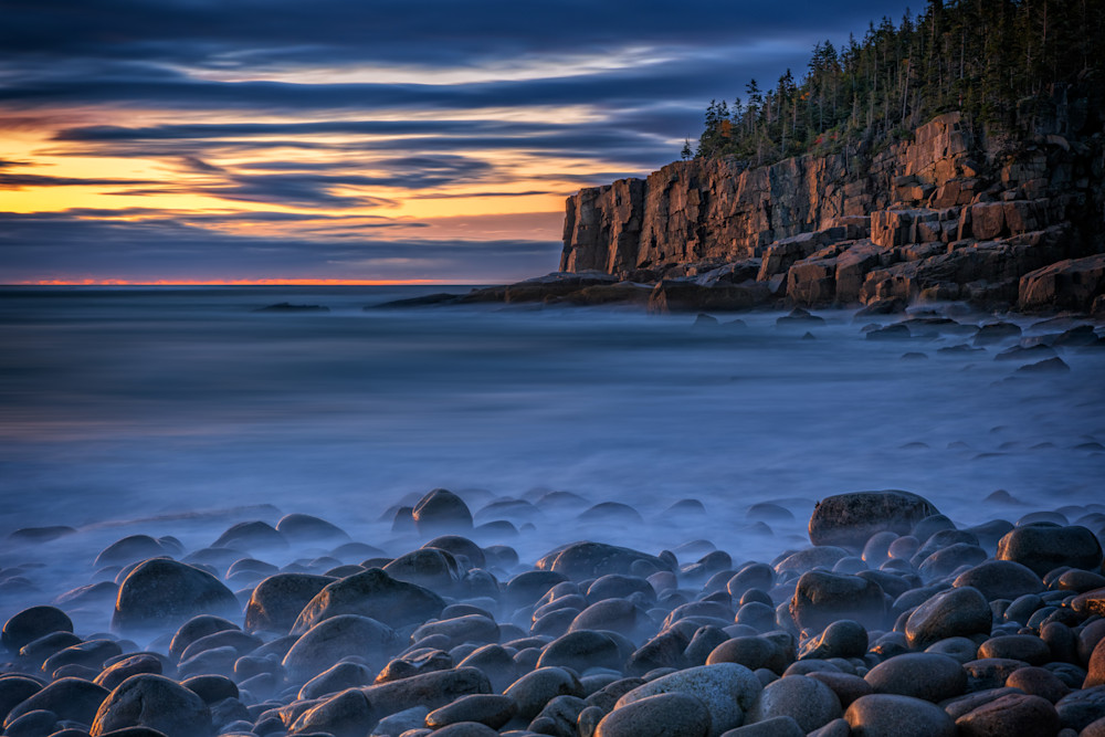 October Dawn on Boulder Beach | Shop Photography by Rick Berk