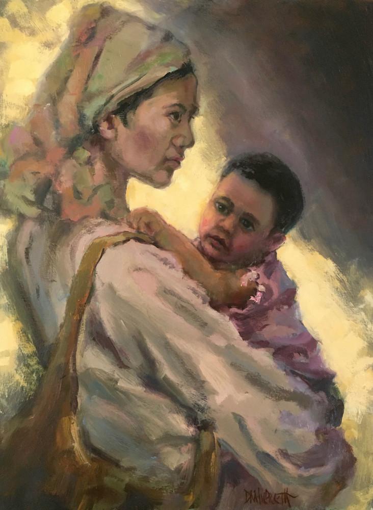 Mother And Child  Art | donaldhildreth