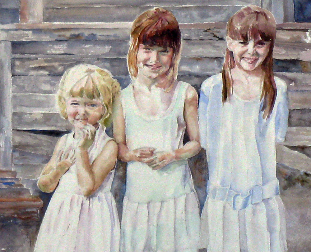 The Gibbons Sisters Art   David Beale