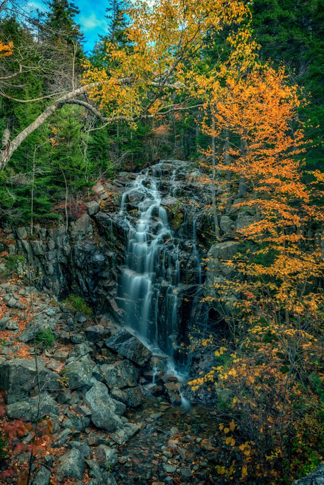 Hadlock Falls on an Autumn Day   Shop Photography by Rick Berk