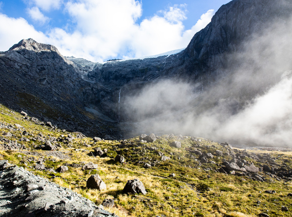 Morning Mist On The Fiordland Photography Art   Kristofer Reynolds Photography
