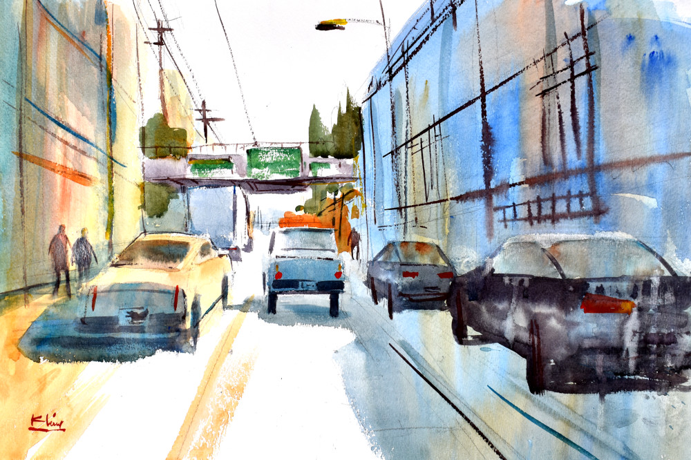 East Side Traffic Art | Steve Kleier Studio