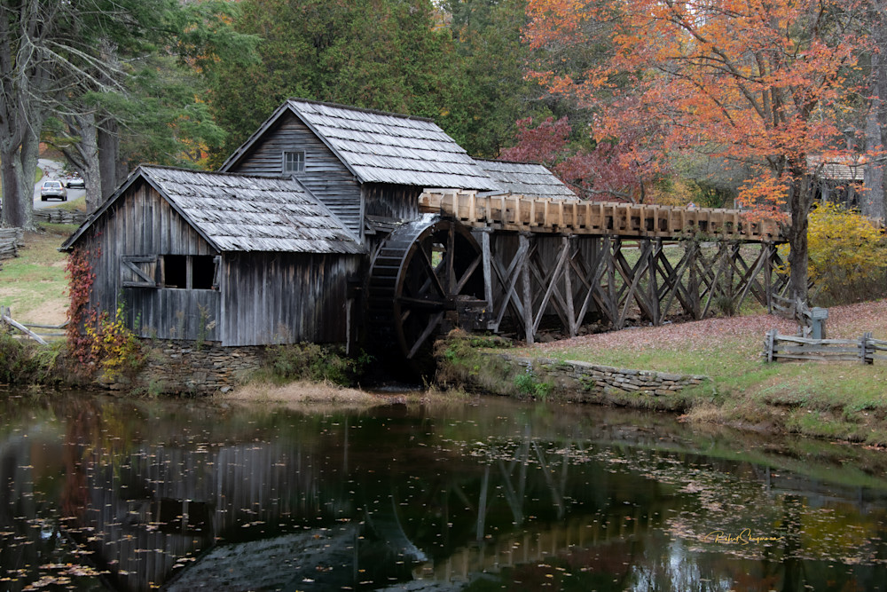Autumn At The Mill | Shop Prints | Robert Shugarman Photography