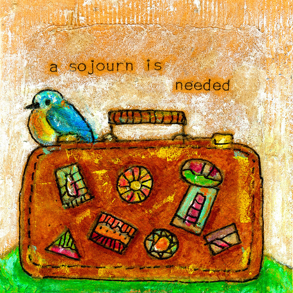 A Sojourn Is Needed Art | Fine Art New Mexico