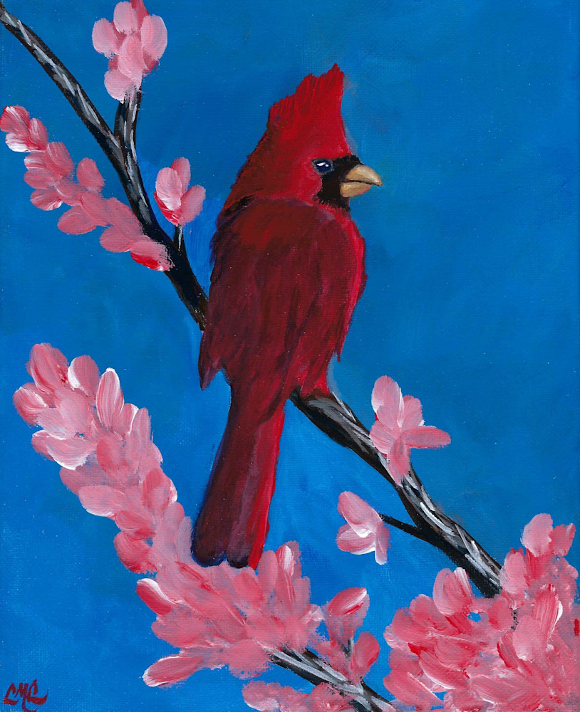 Cardinal in Spring | LML Studio Art