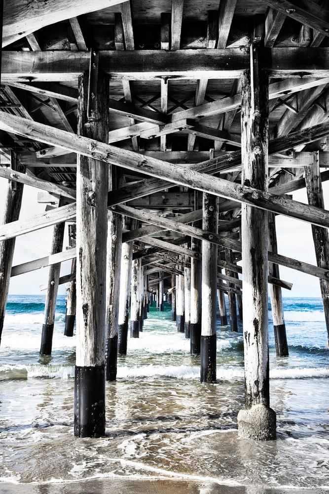 Newport Beach Pier   Vertical Photography Art | Rosanne Nitti Fine Arts