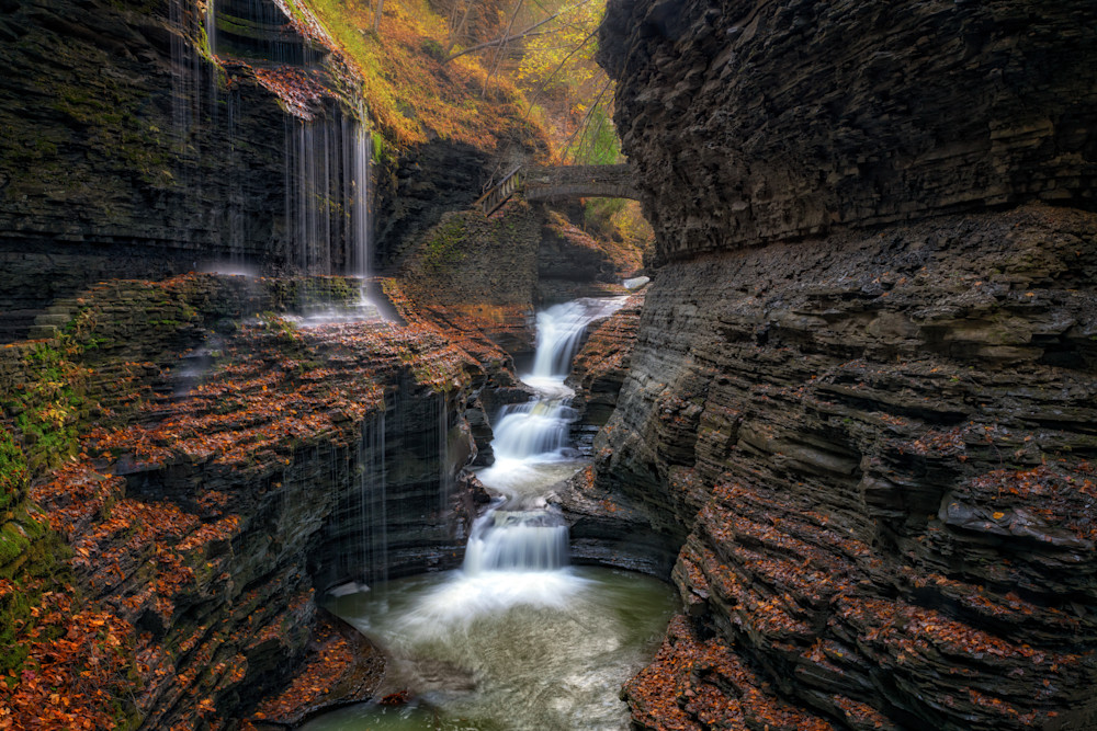 Autumn at Rainbow Falls | Shop Photography by Rick Berk
